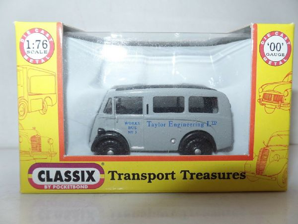 Classix EM76650 1/76 OO Scale Morris J Van Taylor Engineering Works Bus